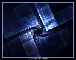 Inverted Ice Pyramid by Khristel