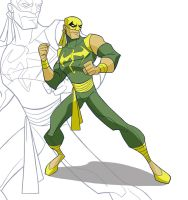 Iron Fist by Drawaholic1124