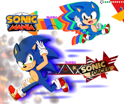 Sonic Forces or Mania? by HimeMikal