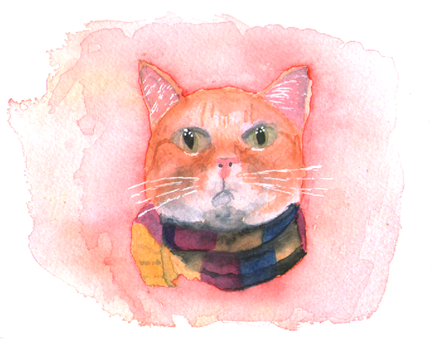 A Street Cat Named Bob by Penholderart