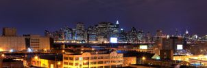 Manattan Skyine From Redhook by sp1te