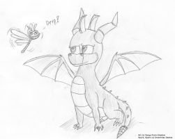 Spyro and Derp-Sparx by Fangy-From-Shadow