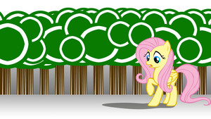 scared Fluttershy by donnybuy