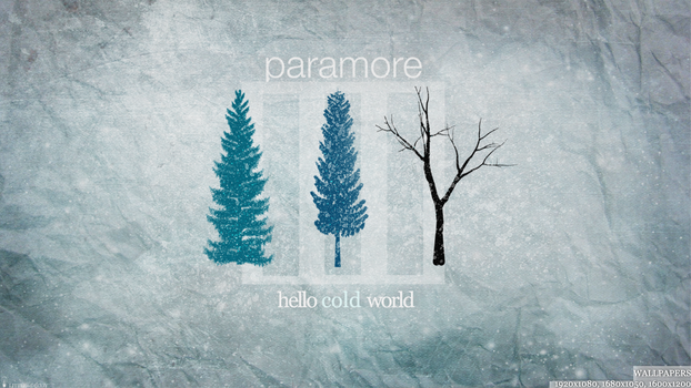 Hello Cold World by Little--Decoy