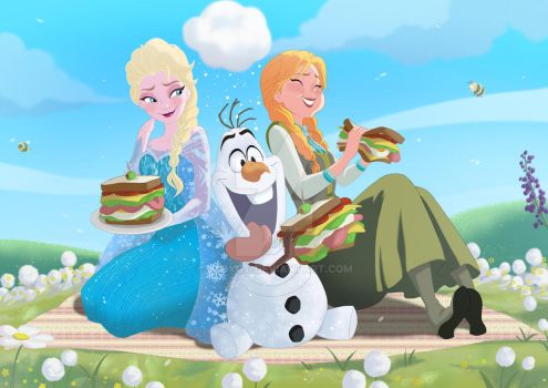 Frozen_Sandwich by LadyGT