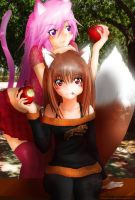 Horo and Aisha - MOEKER by MistraL-Northwind