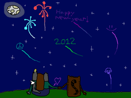 Happy Newyear by S-ombre-StarIight
