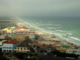 Muizenberg Flats - The Cape by LorrieWhittington