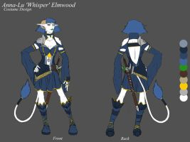 Whisper - Costume Design by Lomebririon