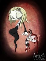 Lenore and Ragamuffin by HappyEvil101