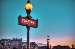 Metro of Paris by olideb08