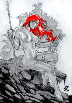 RC RedSonja New Renato Camilo (RC) Ebay Auction by renatocamilo