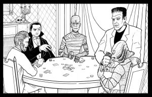 Classic Horror Poker by phymns