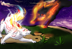 Wicked Flame - OkamiGroup Secret Santa by VioletLynx