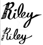 Riley - Tattoo Designs by modestmonster