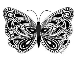 Butterfly Masquerade by firenze