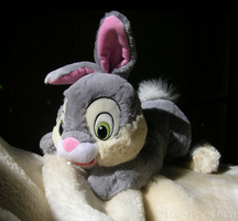 Thumper Rabbit Floppy Plush by The-Toy-Chest
