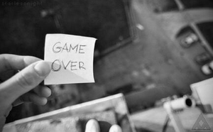 Game OVER by DiverVicky