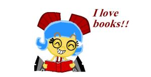 I love books by Peketigregirl