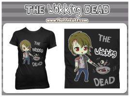 The Wokking Dead Shirt by Fluffntuff