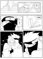 Kakashi blushes pg3 by haruhanna
