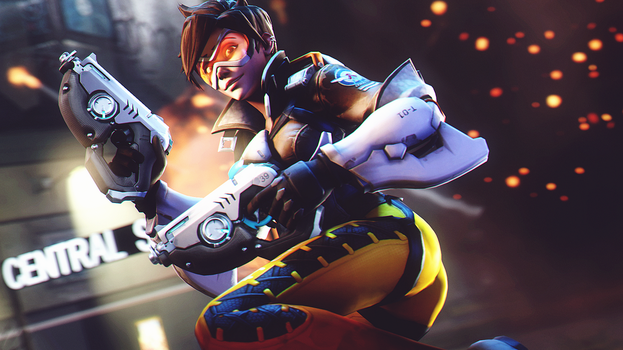 Tracer (Overwatch) by AngryRabbitGmoD