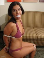 Kobe Lee Tied, Gagged and Angry... by Moraxian