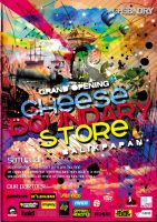 Cheese Boundary Store by Afrar
