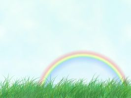 A Day with a Rainbow by f-law