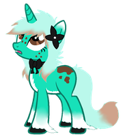 MintChocolate Pony Quick Auction 2 HOURS OPEN by SquidPup
