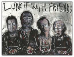 Lunch With Friends by justinaerni