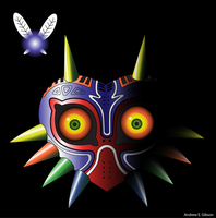 Majora's Mask by AndrewEGibson