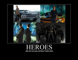 Heroes And Cars by Willow-Osbourne