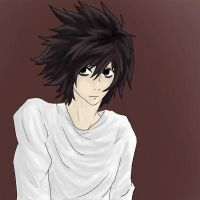 L - Death Note by obsidian-blood360