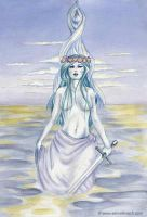 Nimue, The Lady of the Lake by SelinaFenech