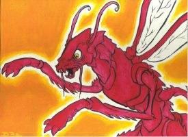 Dragon Insecto by D3a