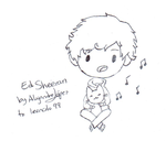 [Chibis] Ed Sheeran by aleprettycat
