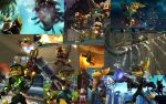Ratchet and Clank Background by Psijay