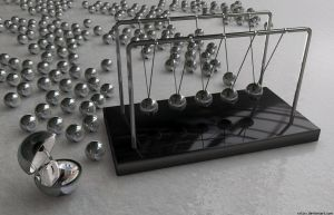 Newtons Cradle X by xxtjxx
