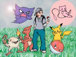 Me and My Pokemon by DJAMJR805