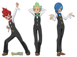 Cilan, Chili and Cress (XY 1) by Gamer5444