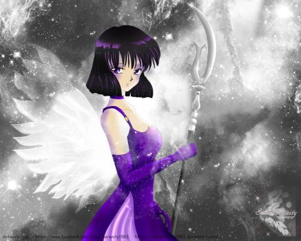 Sailor Saturn - Princess Saturn by SilverSerenity1983