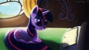 Twilight Sparkle by porkchopsammie