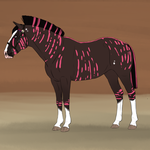 Norse Warmblood Custom| RileyCasper by Silver-Raven-Estate