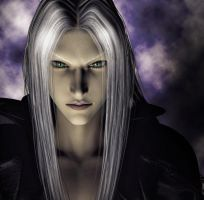 Sephiroth - Third Render by DarthMael