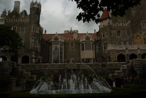 Casa Loma fountain 2 by JacketBird