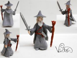 Gandalf the Grey by VictorCustomizer