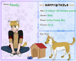 Happy-Tails App: Pennly by ArtProducer95
