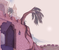 Crescent Moon Coast by electric-sun
