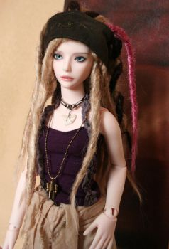 Peace Out - Doll For Sale HOLD by LhiannanSidhe